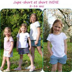 Patron jupe-short