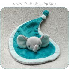 patron couture doudou éléphant