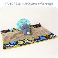 patron-couture-doudou-marionnette-triceratops